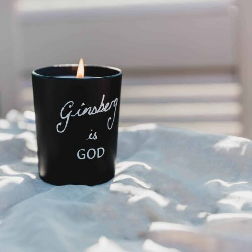 Ginsberg is God Candle by Bella Freud