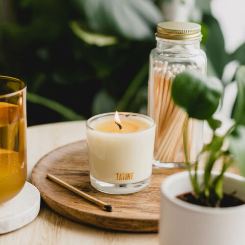 Morning Sun Scented Candle by Tatine