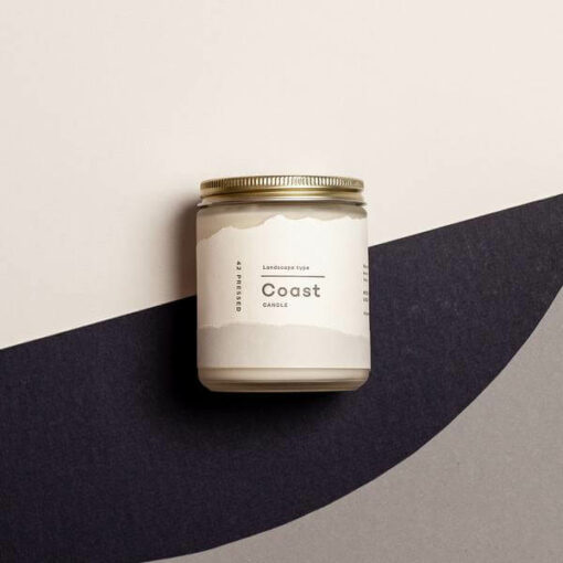 Coast Scented Candle by 42Pressed