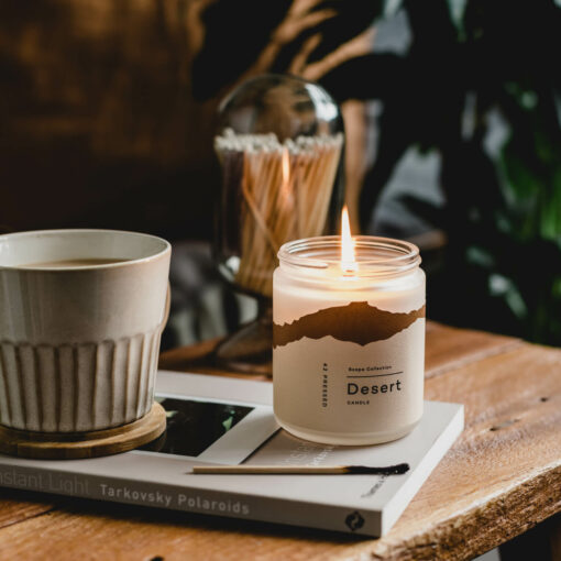 Desert Scented Candle by 42Pressed