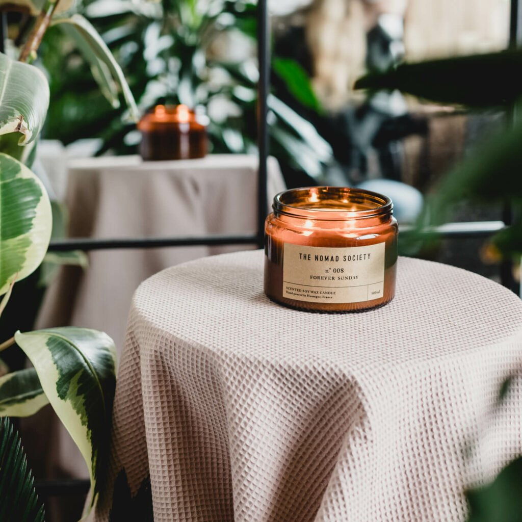 Forever Sunday Candle by The Nomad Society