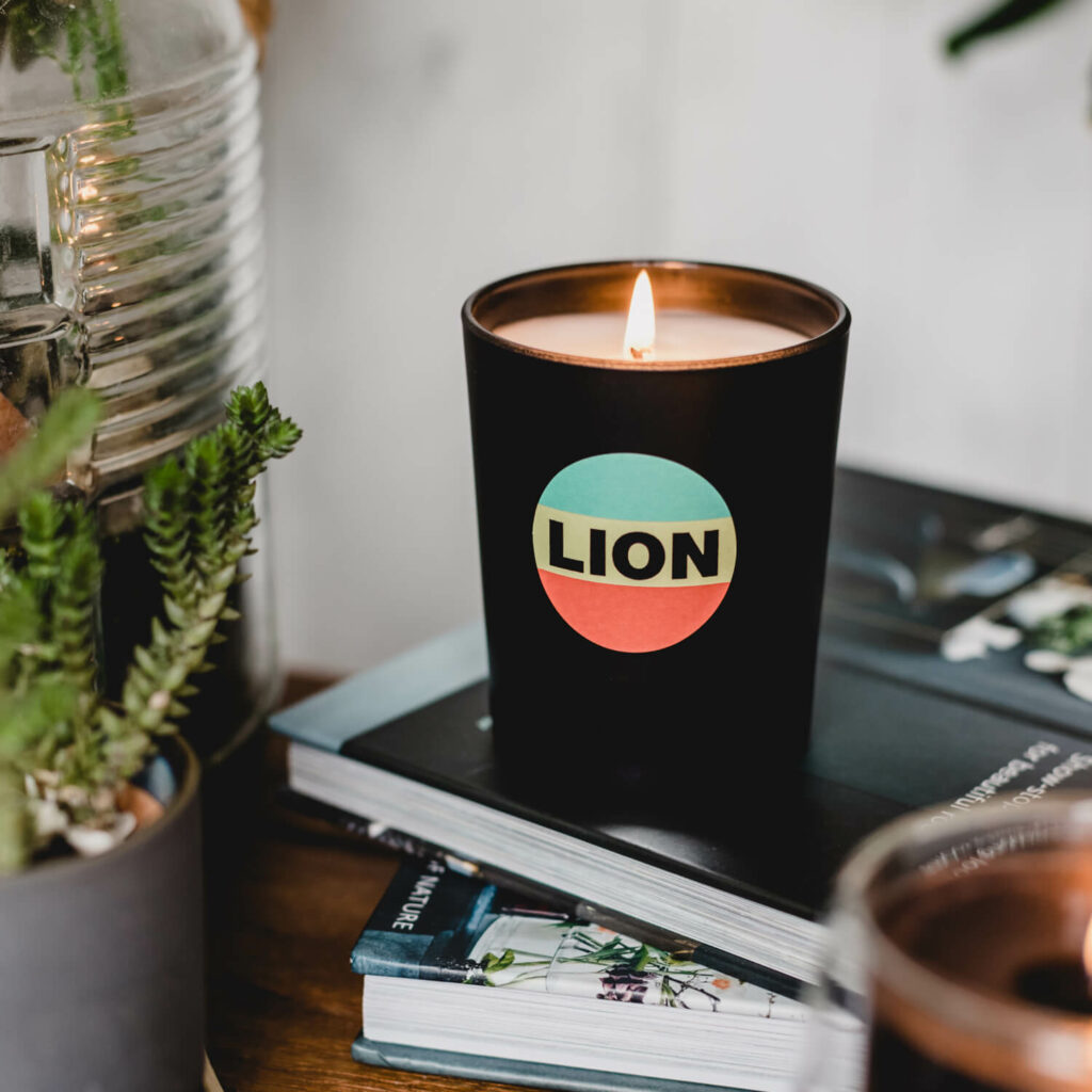 Lion Candle by Bella Freud