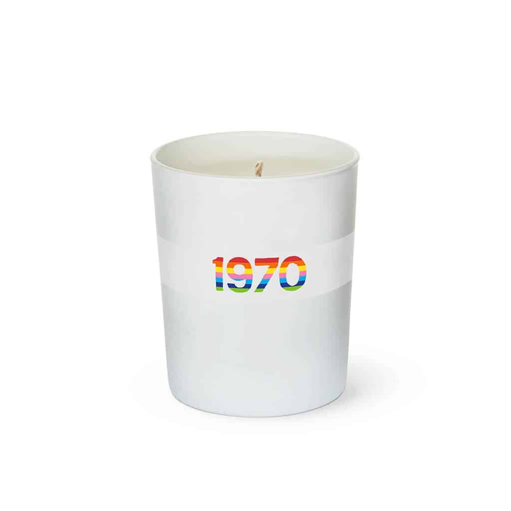 1970 Rainbow Scented Candle by Bella Freud