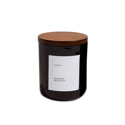 Scented Candle by Cedar