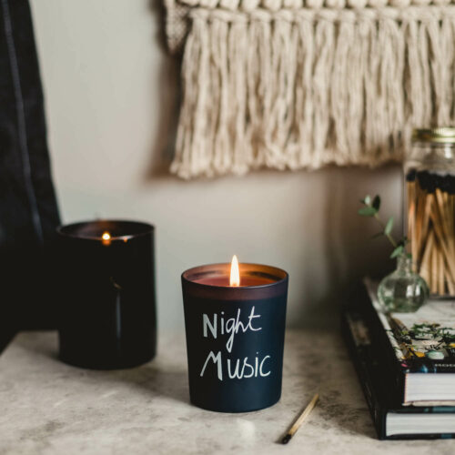 Night Music Scented Candle by Bella Freud