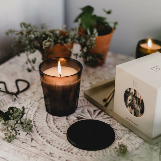 Pathless Woods Scented Candle by LO Studio