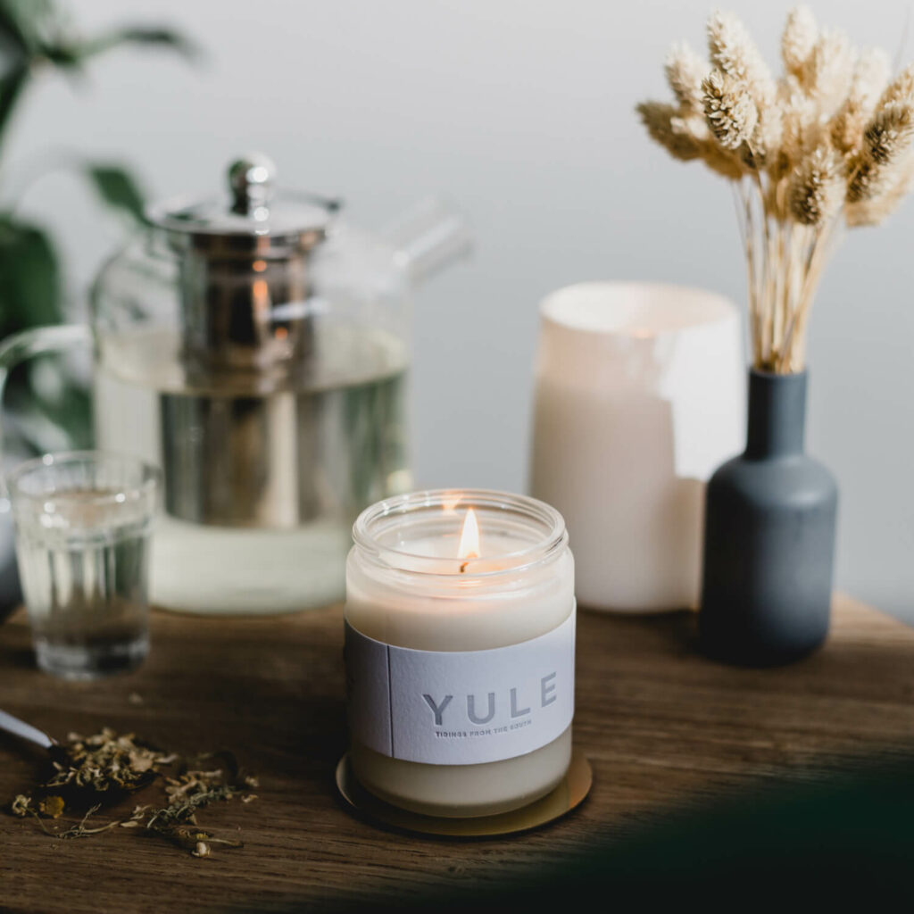 Yule Holiday Scented Candle by 42Pressed
