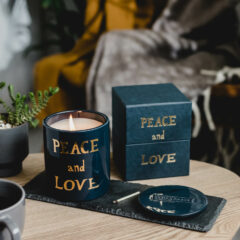 Peace and Love Candle by Bella Freud
