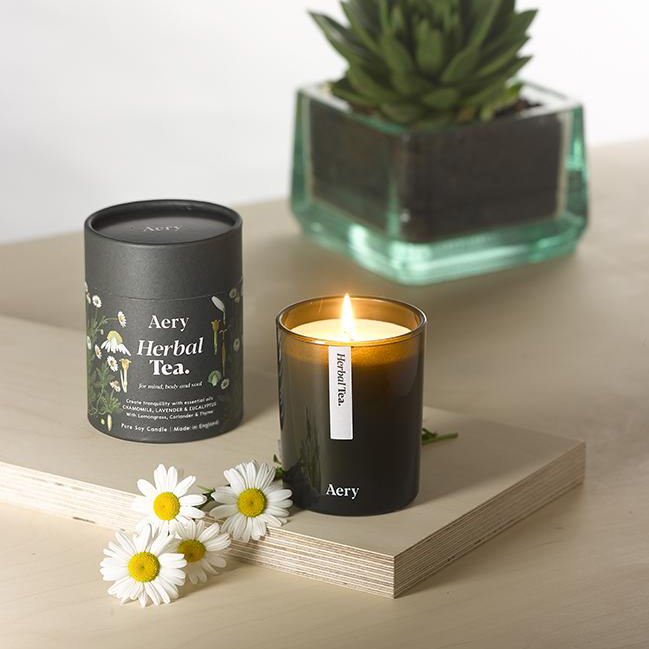Herbal Tea Scented Candle by Aery