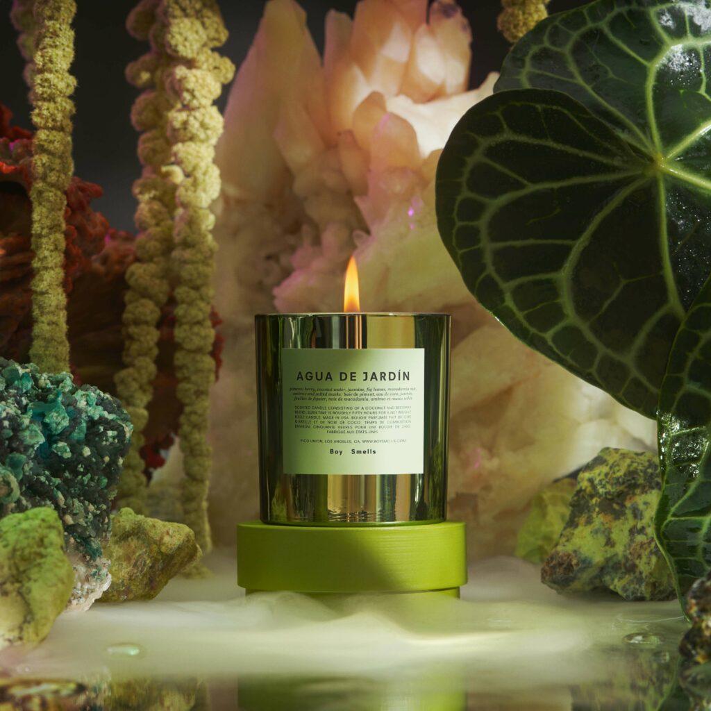Hypernature Agua De Jardin Scented Candle by Boy Smells