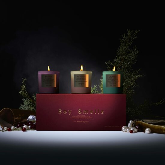 Holiday Rituals Candle Gift Set by Boy Smells