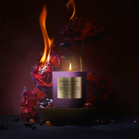 Holiday Rituals Broken Rosary Scented Candle by Boy Smells