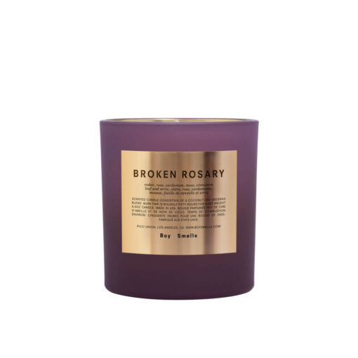 Holiday Rituals Broken Rosary Scented Candle by Boy Smells 1
