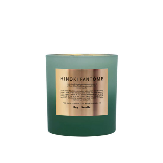 Holiday Rituals Hinoki Fantôme Scented Candle by Boy Smells