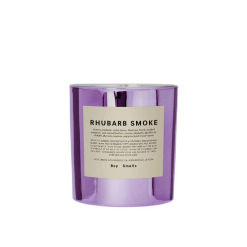 Hypernature Rhubarb Smoke Scented Candle by Boy Smells