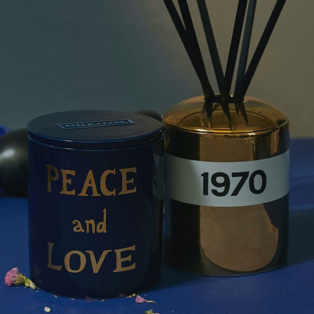 1970 Gold Ceramic Diffuser by Bella Freud