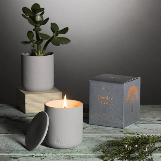 Persian Thyme Scented Candle by Aery