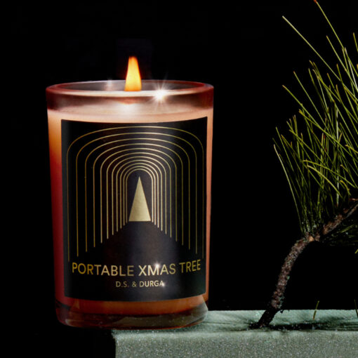 Portable Xmas Tree Scented Candle by D.S. & DURGA