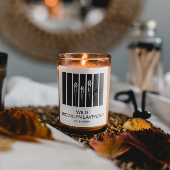 Wild Brooklyn Lavender Scented Candle by D.S. & DURGA