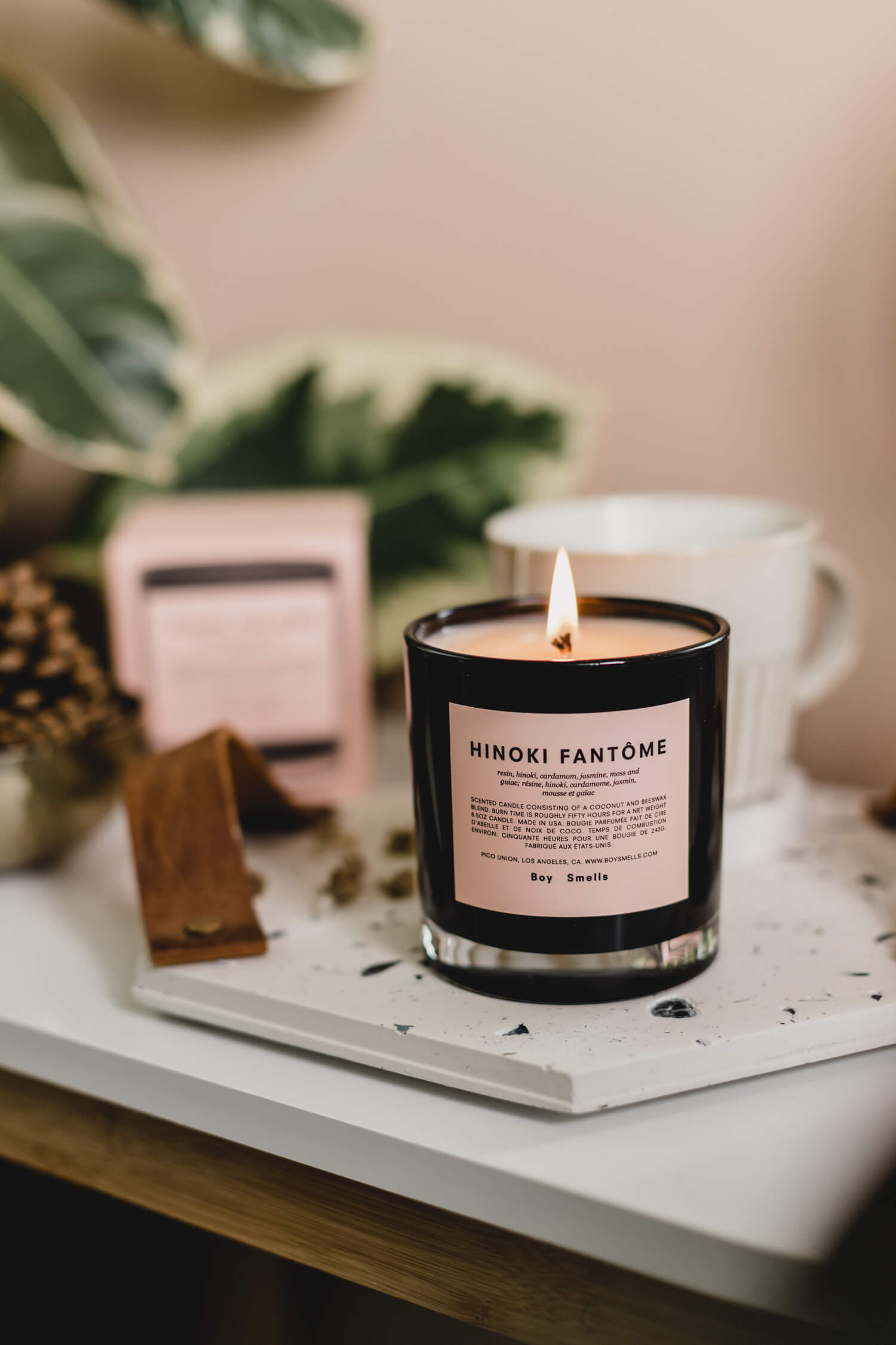 Hinoki Fantome Candle by Boy Smells