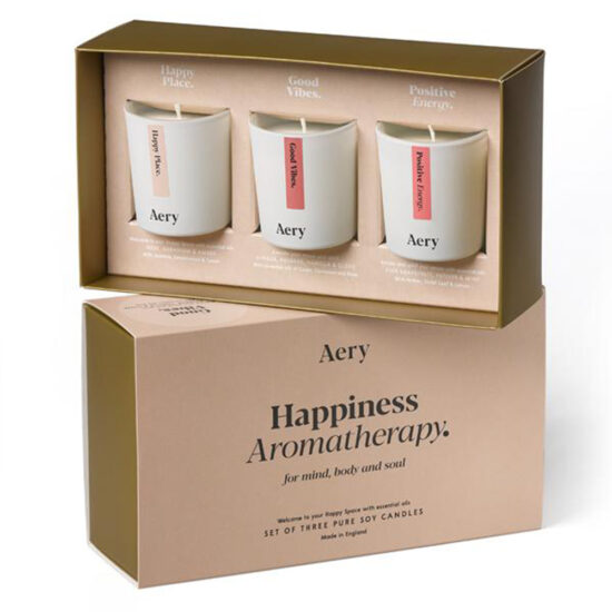 Happiness Scented Candle Gift Set by Aery