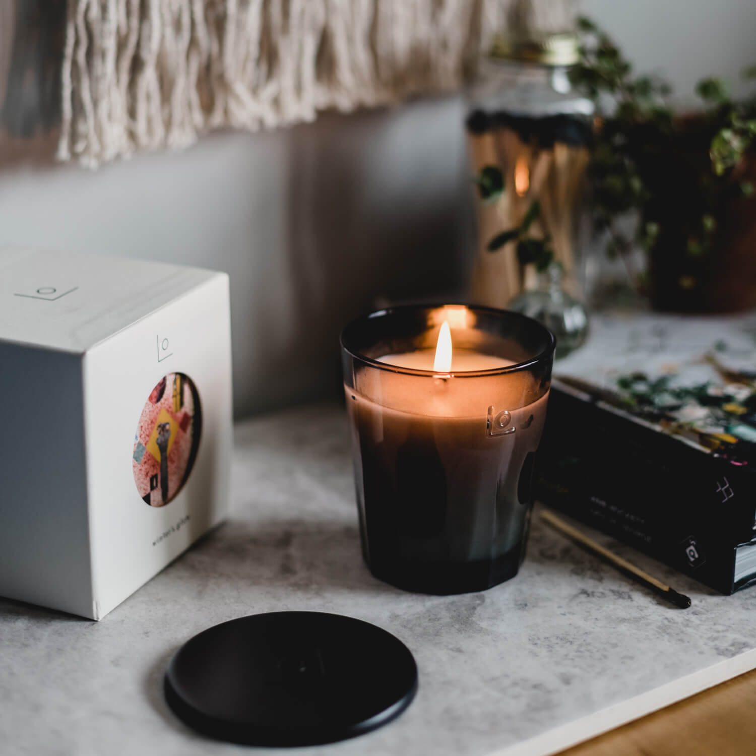 Winter's Glow Candle by LO Studio