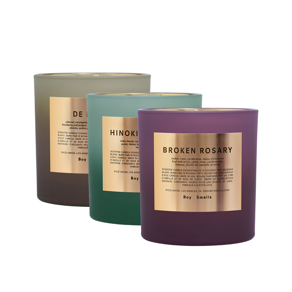 Holiday Rituals Scented Candle Bundle by Boy Smells