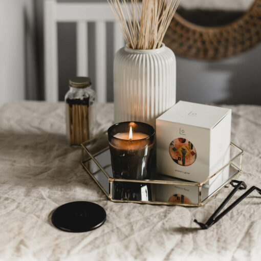 Winter's Glow Scented Candle by LO Studio