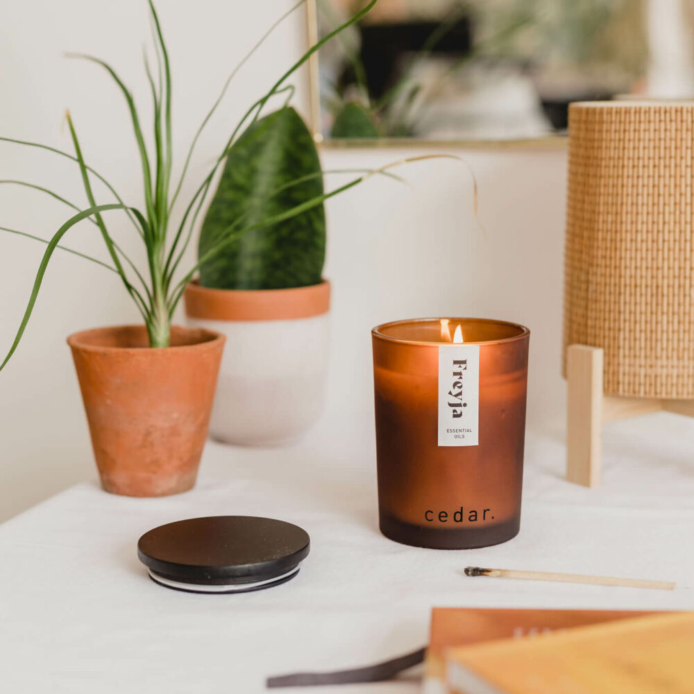 Freyja Scented Candle by Cedar