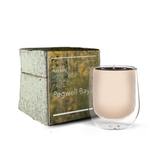 """Pegwell Bay GPS 21 '30""""E Scented Candle by Haeckels"""