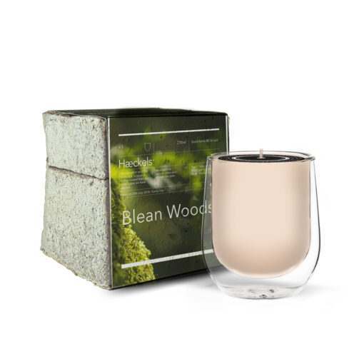 Blean Woods Scented Candle by Haeckels
