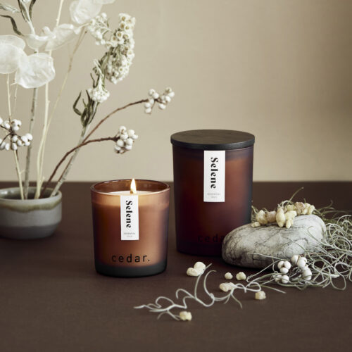 Selene Scented Candle by Cedar