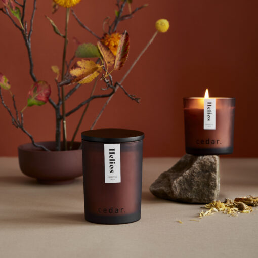 Helios Scented Candle by Cedar