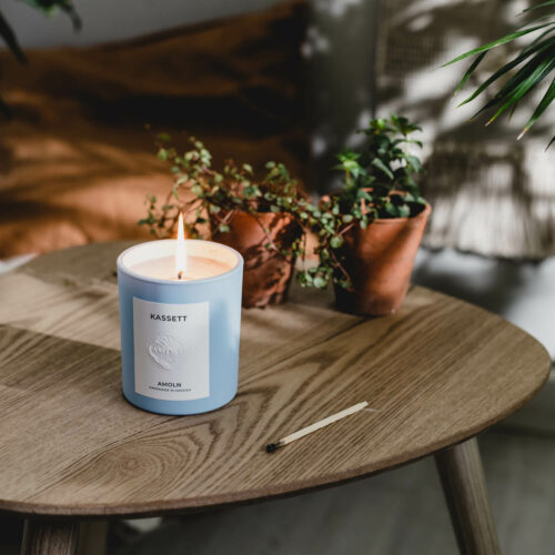 Kassett Candle by Amoln