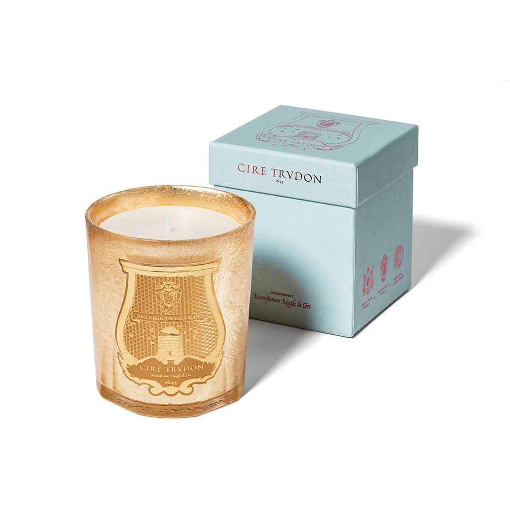 Gold Solis Rex Scented Candle by Cire Trudon