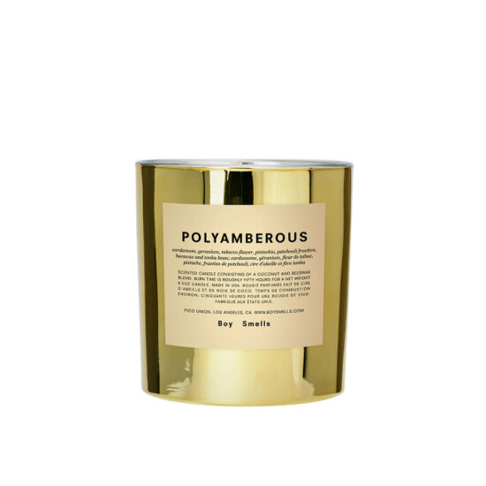 Hypernature Polyamberous Scented Candle by Boy Smells