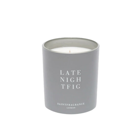 Late Night Fig Scented Candle by Saint Fragrance