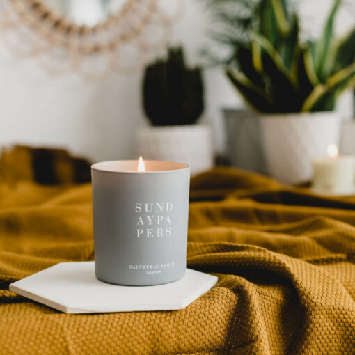 Sunday Papers Scented Candle by Saint Fragrance