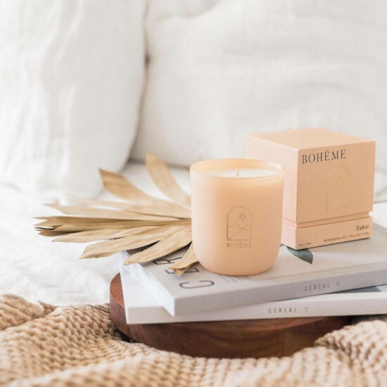 Tahiti Scented Candle by Bohéme