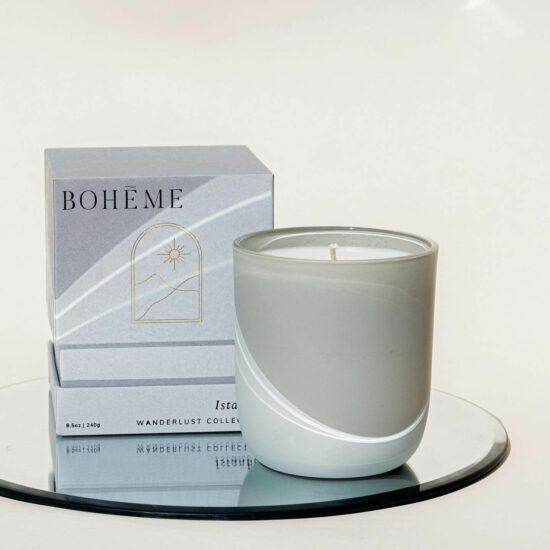 Istanbul Scented Candle by Bohéme