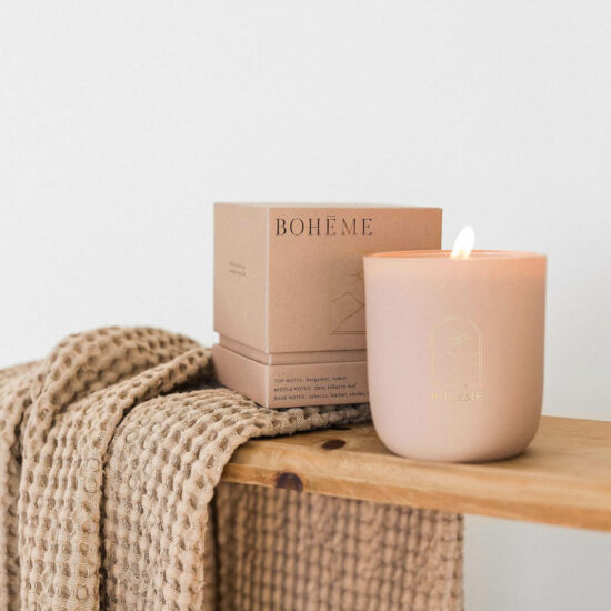 Havana Scented Candle by Bohéme