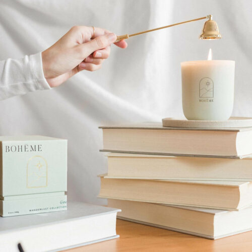 Goa Scented Candle by Bohéme
