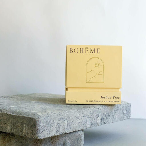 Joshua Tree Scented Candle by Bohéme