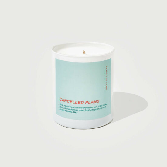 Cancelled Plans Scented Candle by Cancelled Plans