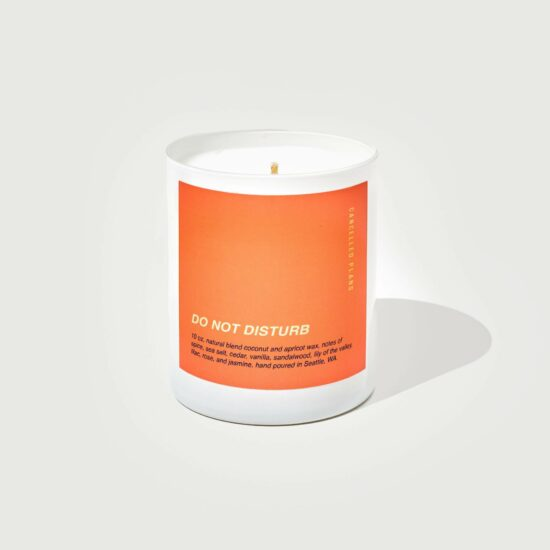Do Not Disturb Scented Candle by Cancelled Plans