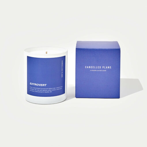Extrovert Scented Candle by Cancelled Plans