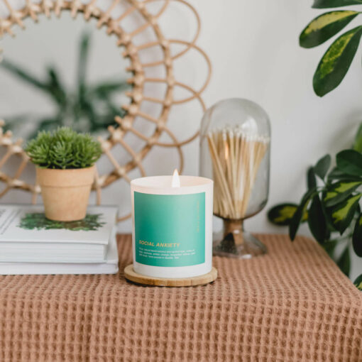 Social Anxiety Scented Candle by Cancelled Plans