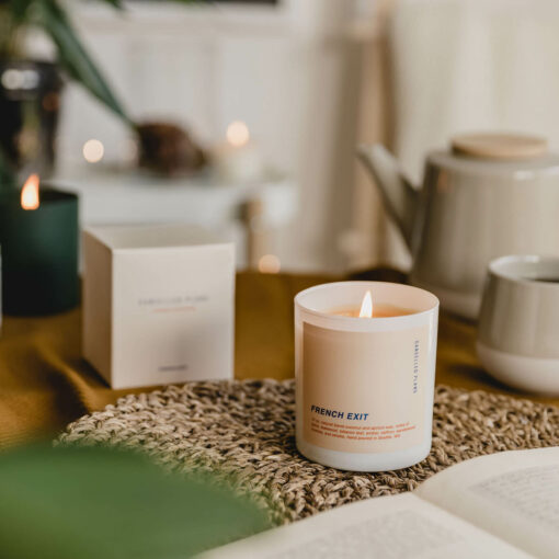 French Exit Scented Candle by Cancelled Plans
