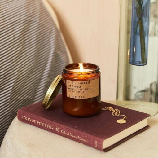 Lavender Scented Candle by P.F. Candle Co.