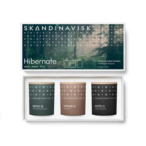 HIBERNATE Scented Candle Gift Set by Skandinavisk